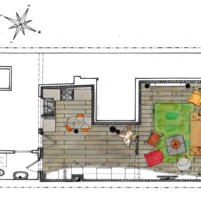 Plan amenagement studio 25m2 photos de conception de maison - Plan studio studio m ...