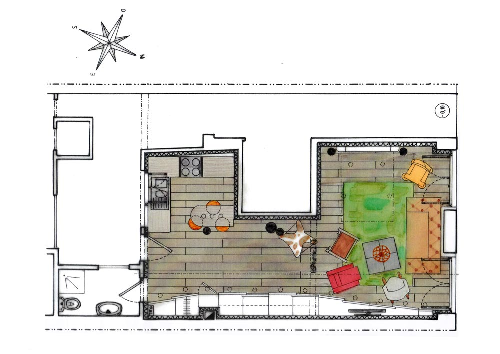 am nagement int rieur appartement lyon vertinea. Black Bedroom Furniture Sets. Home Design Ideas