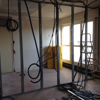 Rénovation intérieure appartement Lyon Décoration intérieure Lyon Architecture intérieure Lyon Restructuration appartement Lyon