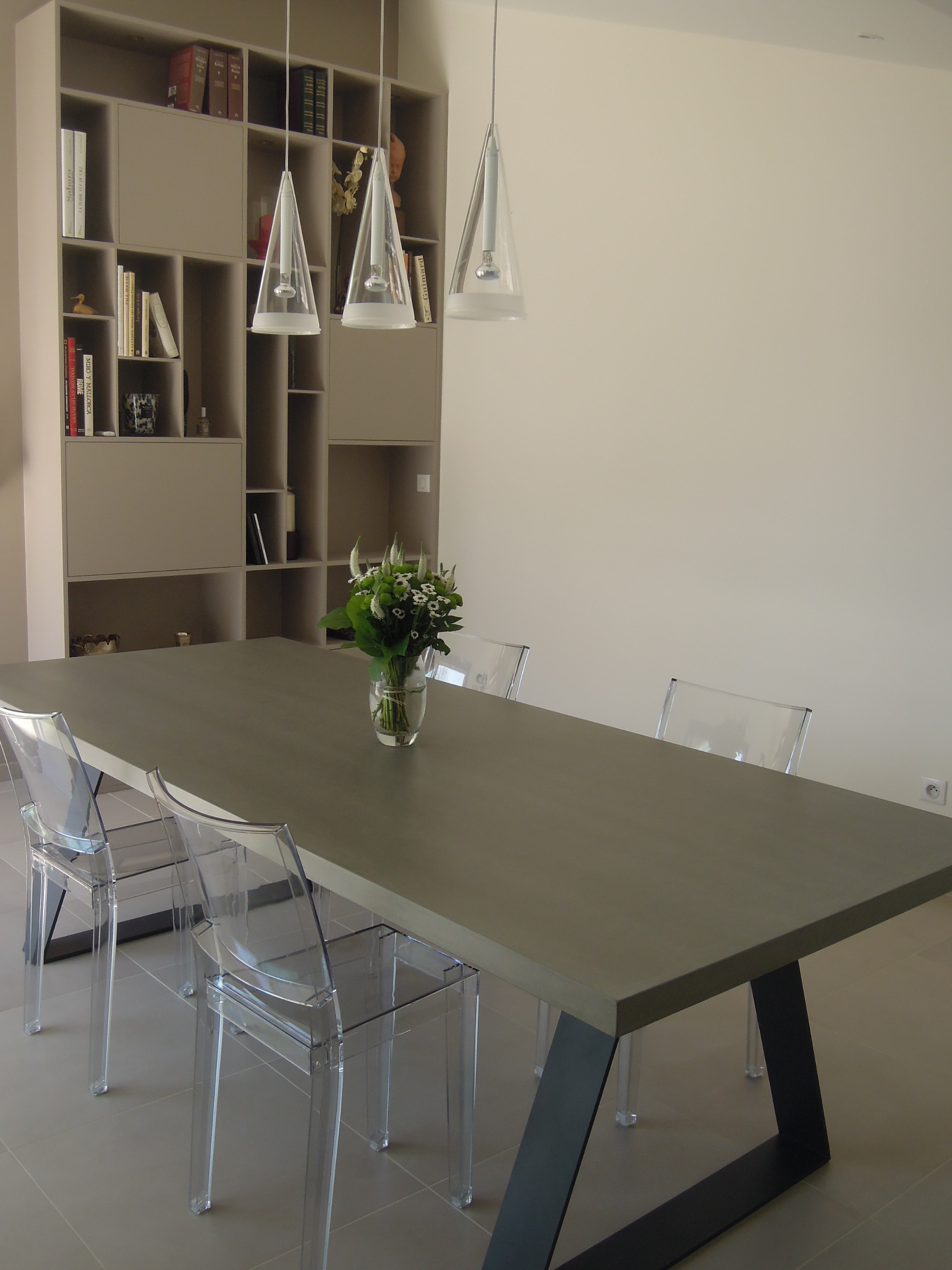 r novation int rieure salle manger lyon vertinea. Black Bedroom Furniture Sets. Home Design Ideas