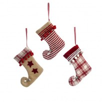 Chaussettes red christmas SIA