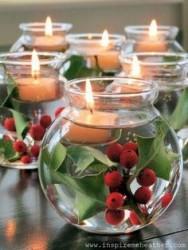 bougies houx