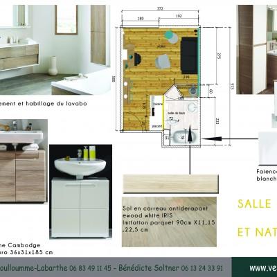 conseil décoratrice d'intérieur salle de bain Lyon