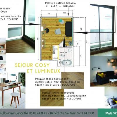 Rénovation studio Lyon