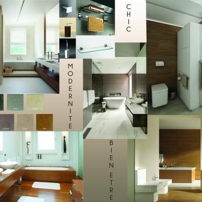 Rénovation aménagement décoration intérieure Lyon Chambre et salle de bain suite parentale - Vertinea