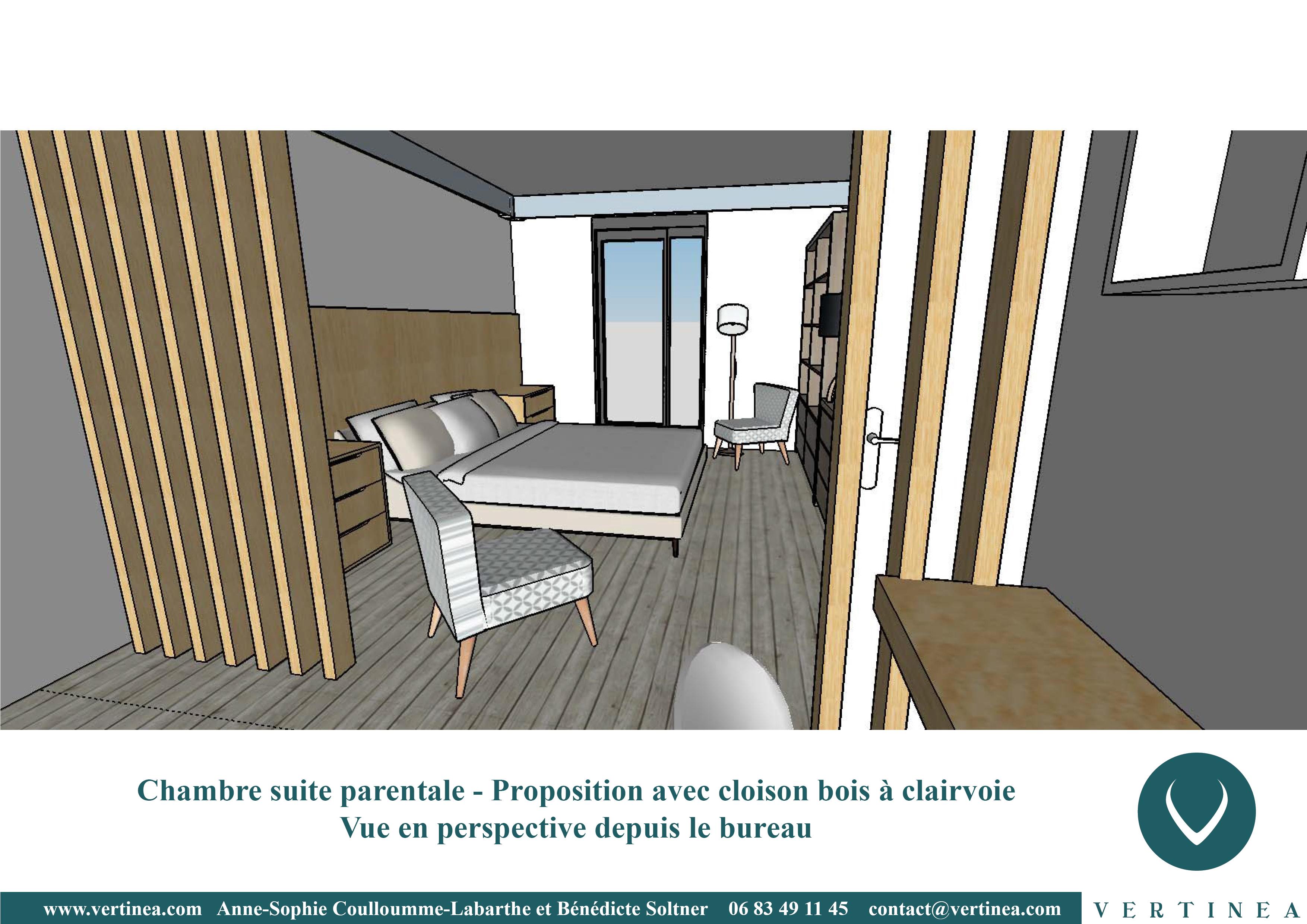 ... Rénovation Aménagement Décoration Intérieure Lyon Chambre Suite  Parentale ...