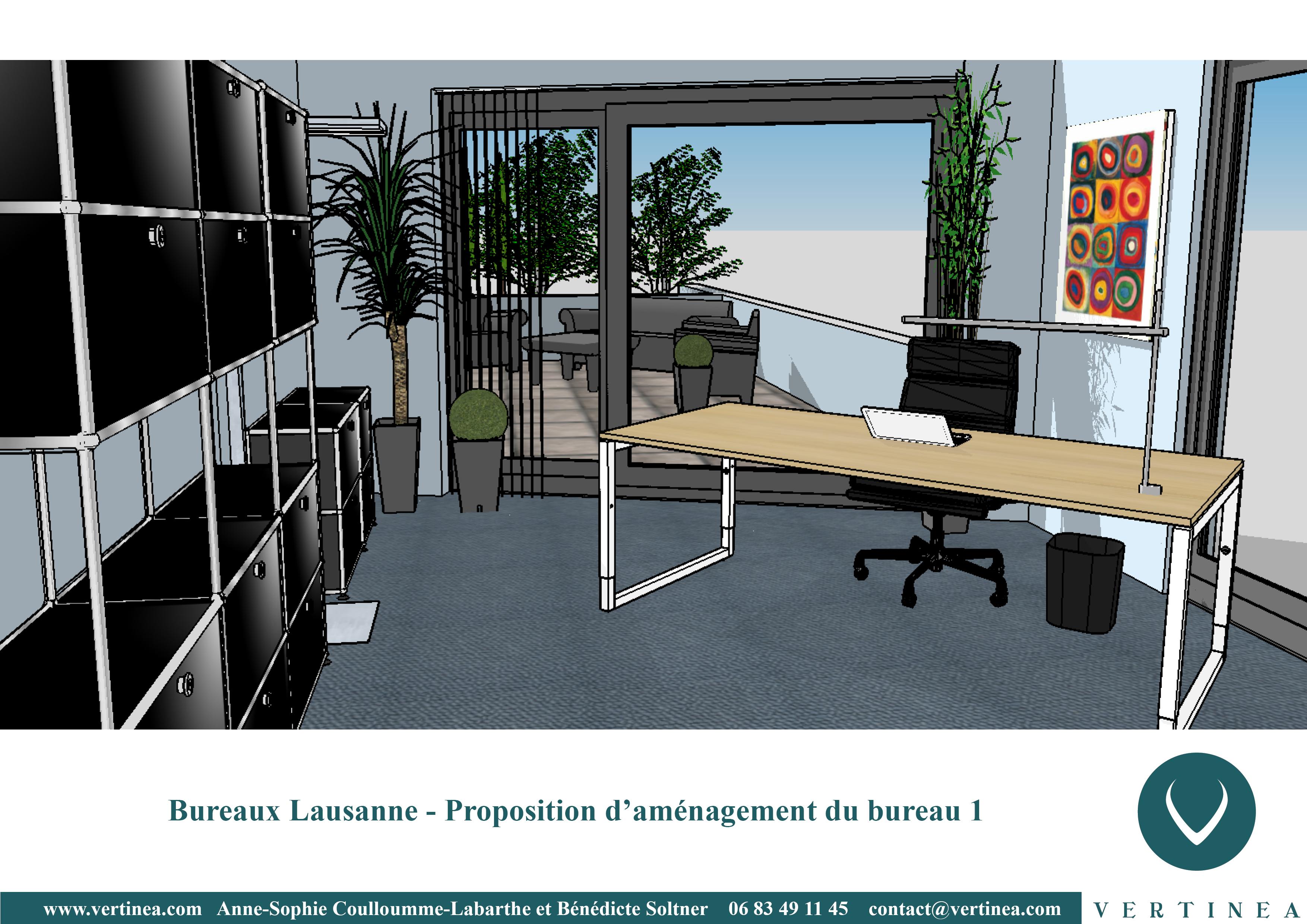 Am nagement et d coration int rieure de bureaux lausanne vertinea - Amenagement bureaux professionnels ...