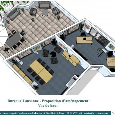 Aménagement Décoration intérieure bureaux professionnels Lyon - VERTINEA