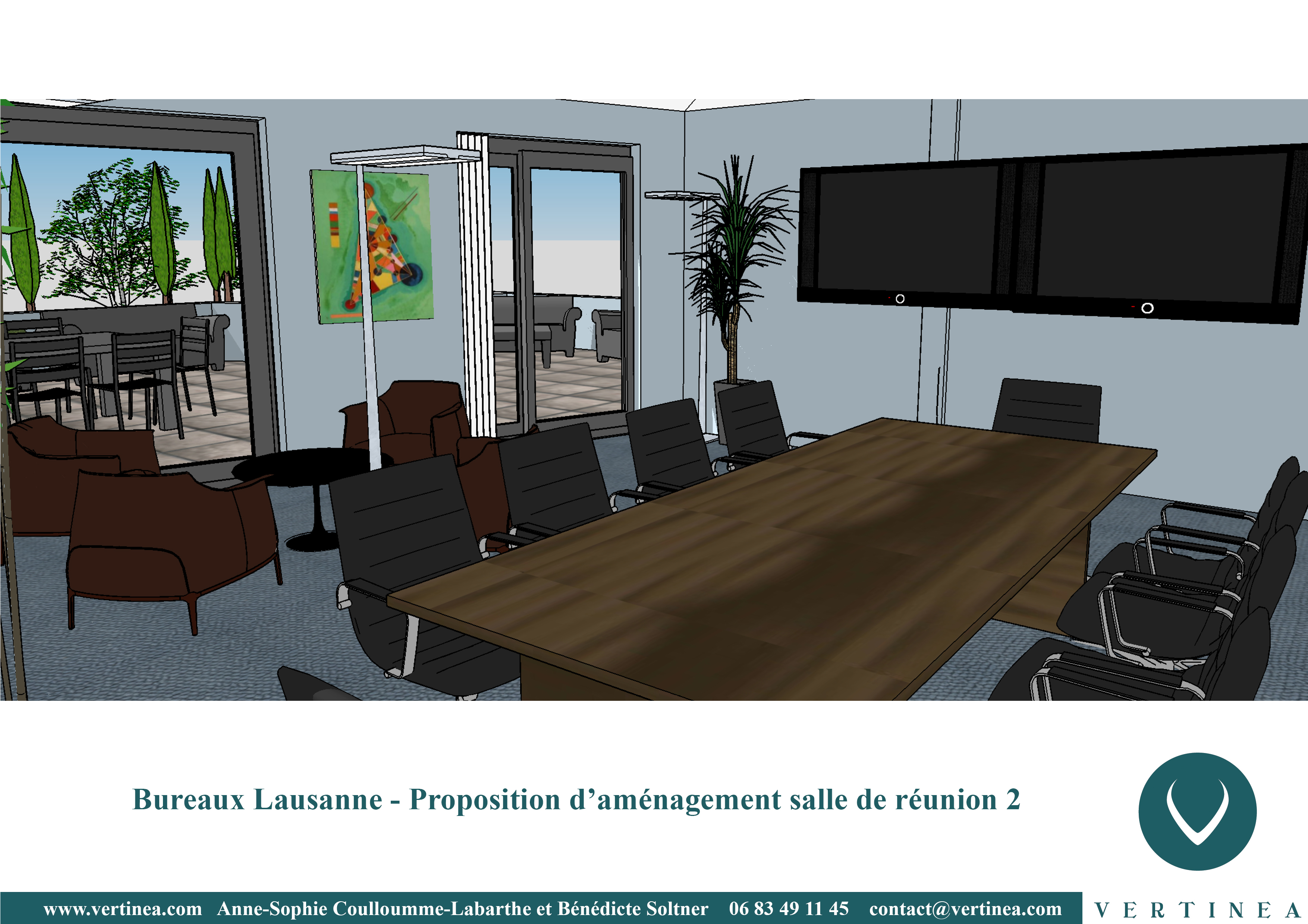 Am nagement et d coration int rieure de bureaux lausanne for Amenagement decoration interieur