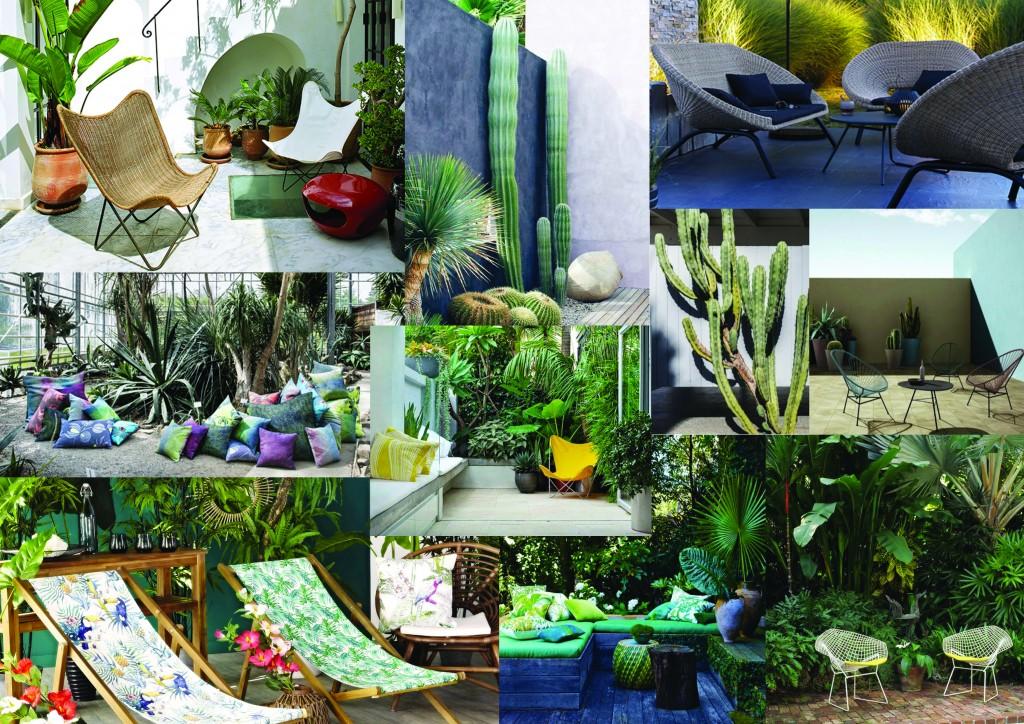 D co et terrasse adoptez l 39 ambiance urban jungle for Conseil deco jardin
