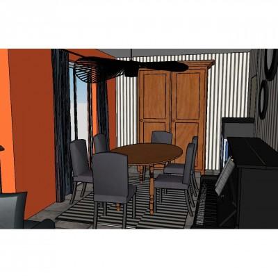 Projet d'aménagement et déco pour une maison à Ecully, Vertinea Déco d'intérieurs à Lyon