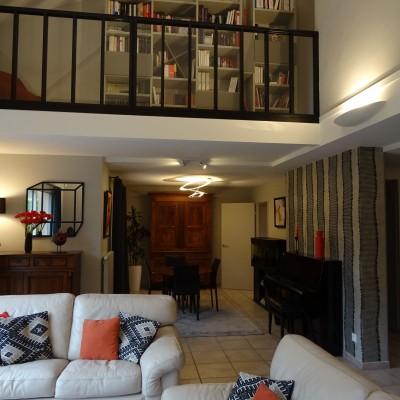 Aménagement et décoration intérieur maison Ecully réalisé par Vertinea Lyon