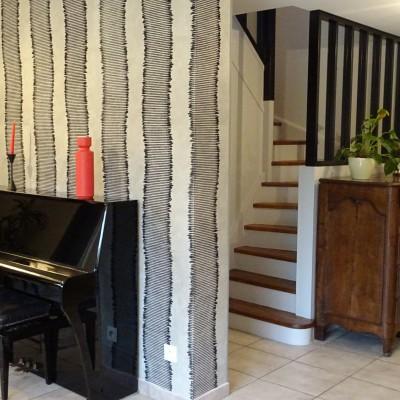 Aménagement et décoration intérieur maison Ecully réalisé par Vertinea Lyon Ecully