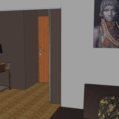 Aménagement et décoration salon à Sainte Foy Lès Lyon, propositions Vertinea decoration interieure Lyon