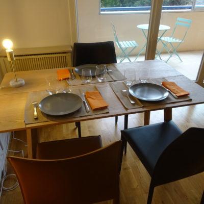 Décoration intérieure, aménagement, rénovation et suivi de chantier Lyon, appartement Lyon - Salle à manger