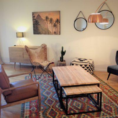 Décoration intérieure, aménagement, rénovation et suivi de chantier Lyon, appartement Lyon - Salon