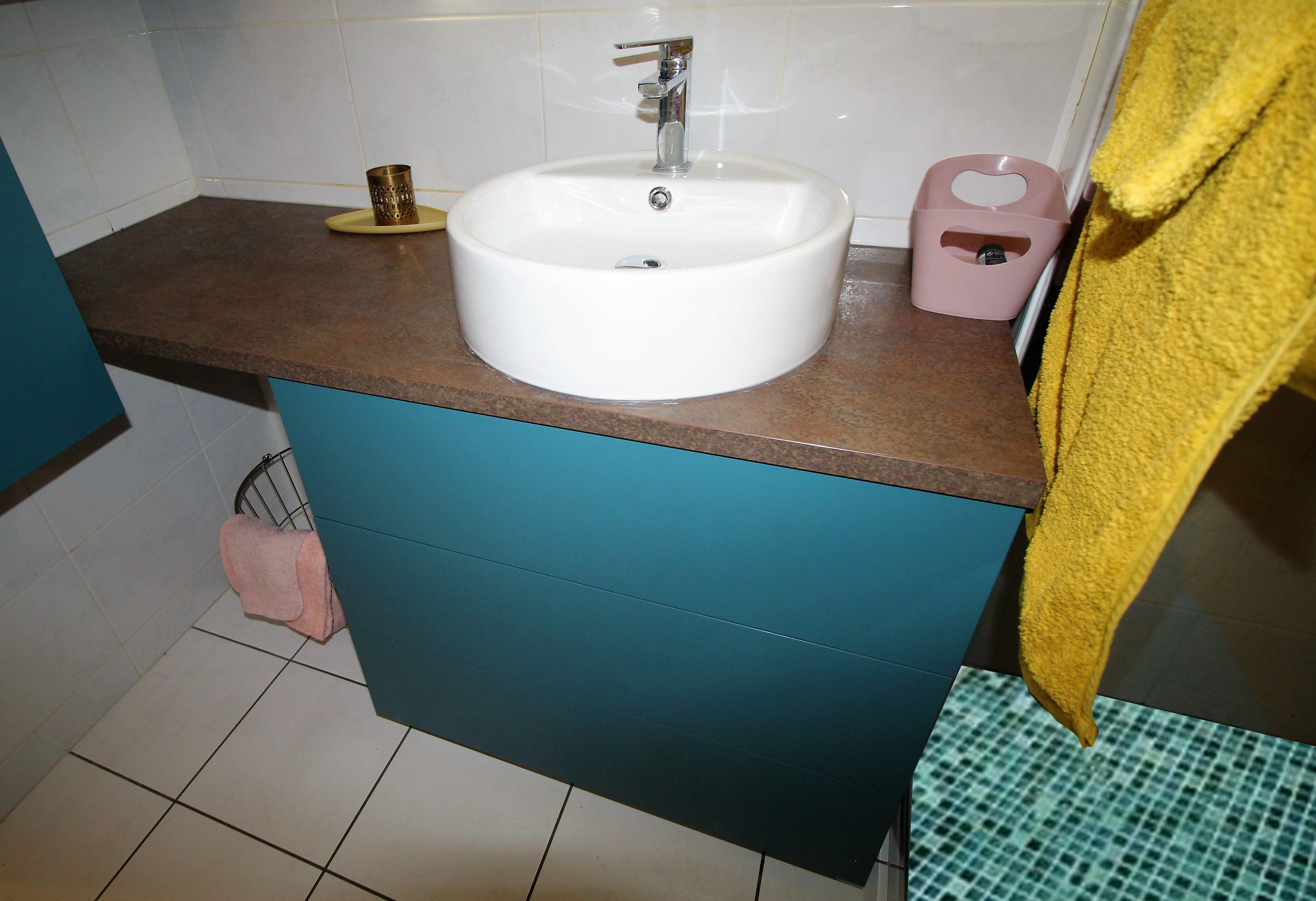 Couleur De L Emeraude rénovation d'une salle de bain couleur émeraude à sainte foy