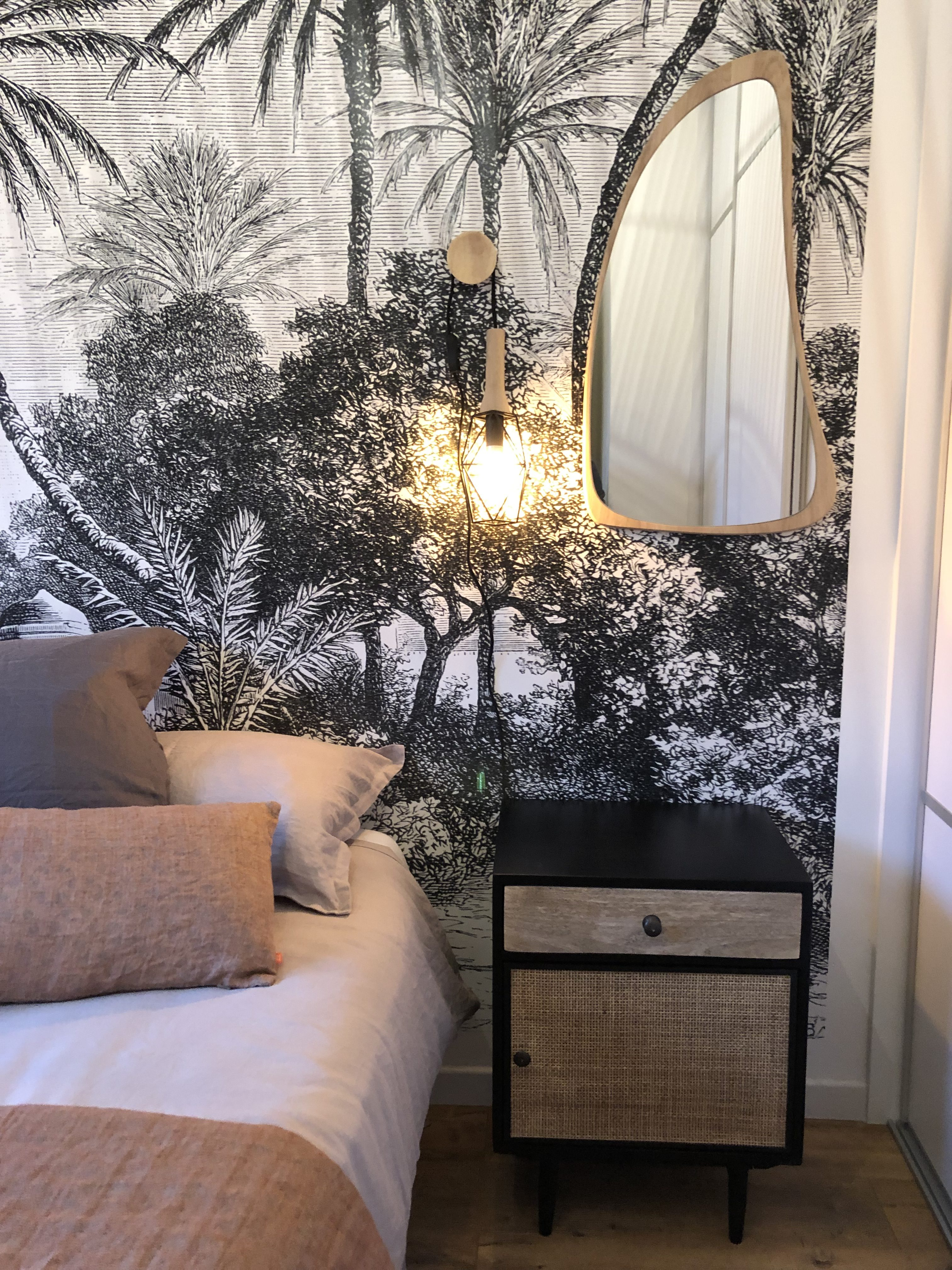 Aménagement Dune Chambre De Style Bohème Chic à Lyon 2 Vertinea