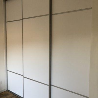 Meubles sur mesure conçus pour un appartement à optimiser à Lyon - Réalisation agence Vertinea, Anne-Sophie Coulloumme-Labarthe Décoratrice d'intérieur Lyon